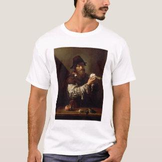 Porträt eines alten Mannes mit einer Zwiebel (Öl T-Shirt
