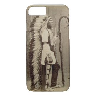 Porträt eines amerikanischen Ureinwohners von iPhone 8/7 Hülle