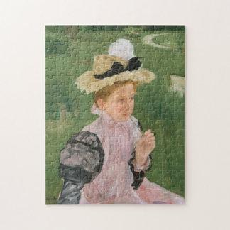 Porträt eines jungen Mädchens, circa 1899 Puzzle