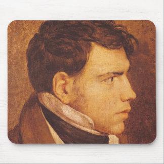 Porträt eines jungen Mannes 2 Mauspad