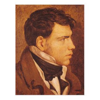 Porträt eines jungen Mannes 2 Postkarten