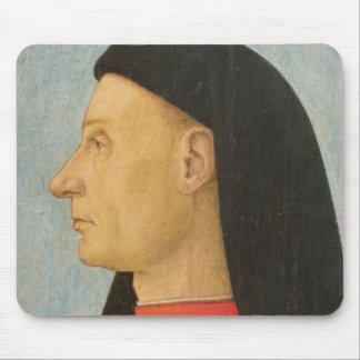 Porträt eines jungen Mannes Mauspads