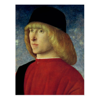 Porträt eines jungen Senators, 1485-90 Postkarte