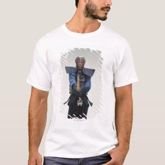 Porträt eines Kendo Fechters T-Shirt