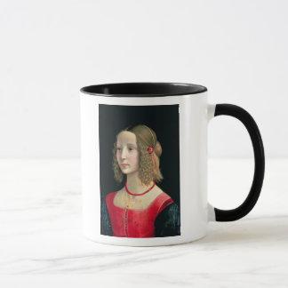 Porträt eines Mädchens, c.1490 Tasse