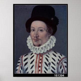 Porträt eines Mannes, 1575 Poster