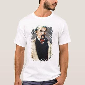 Porträt eines Mannes in einer blauen Kappe T-Shirt
