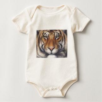 Porträt eines Tigers Baby Strampler