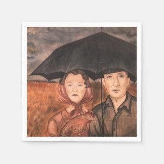 Porträt eines Traums Papierserviette
