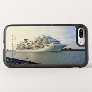Porträt eines überschreitenen Kreuzschiffs OtterBox Symmetry iPhone 8 Plus/7 Plus Hülle