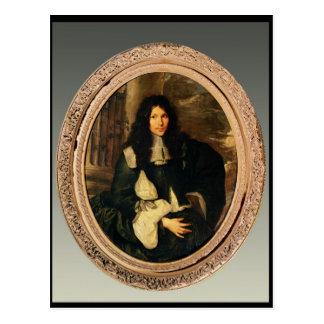 Porträt eines unbekannten Mannes Postkarte