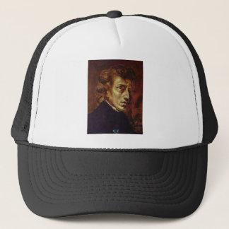 Porträt Frederic Chopin durch Eugene Delacroix Truckerkappe