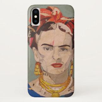 Porträt Frida Kahloen Coyoacán iPhone X Hülle