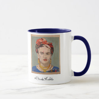 Porträt Frida Kahloen Coyoacán Tasse