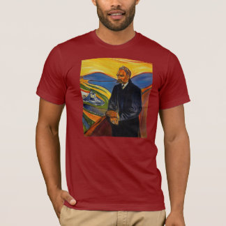 Porträt Friedrich Nietzsche durch Edvar kauen T-Shirt