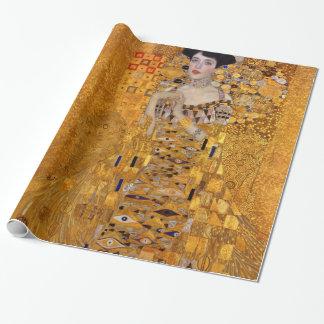Porträt Gustav Klimt von Adele GalleryHD Vintag Geschenkpapier