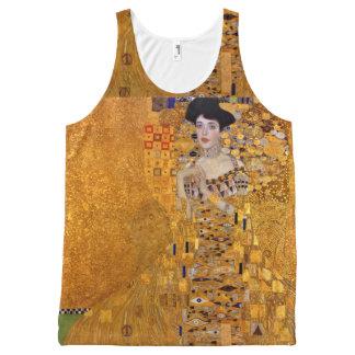 Porträt Gustav Klimt von Adele GalleryHD Vintag Komplett Bedrucktes Tanktop