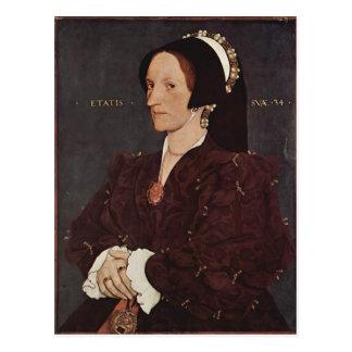 Porträt Hans Holbein- von Margaret Wyatt, Dame Lee Postkarte