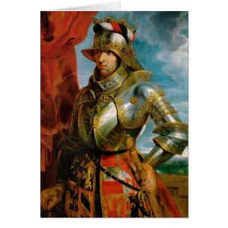 Porträt heiligen römischen Kaisers Rubens Karte