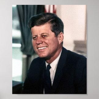 Porträt John F. Kennedy Whitehouse Poster