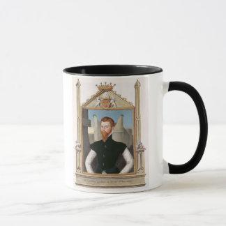 Porträt letzten Grafen Edward Courtenay Tasse