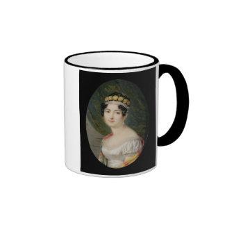 Porträt-Miniatur der Kaiserin Josephine (1763- Ringer Tasse