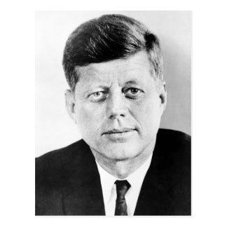 Porträt Präsidenten-John F. Kennedy Postkarte