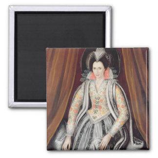 Porträt sagte, Susan, Dame Grey zu sein Quadratischer Magnet