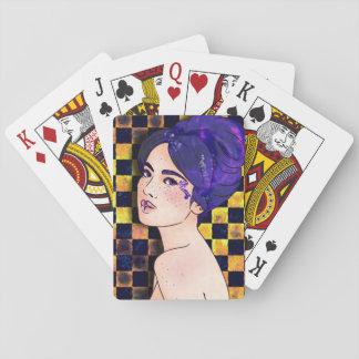 Porträt-Spielkarten Spielkarten