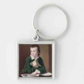 Porträt T33403 des Revd William Rastall als B Schlüsselanhänger