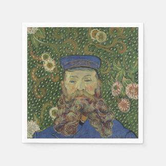 Porträt Van Gogh | des Briefträgers Joseph Roulin Serviette