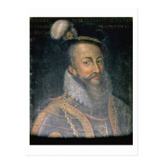 Porträt von (1532-88) Grafen Roberts Dudley Leices Postkarte