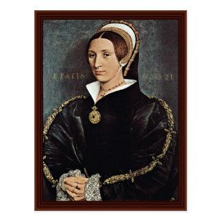 Porträt von 5. Ehefrau Catarina Howard von König Postkarte