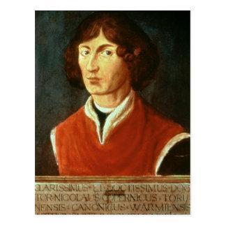Porträt von Andreus Nikolaus Kopernikus 1575 Postkarte