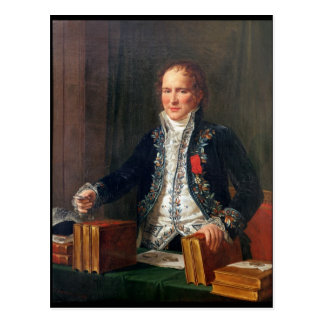 Porträt von Antoine Francois de Fourcroy Postkarte