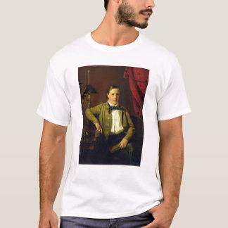 Porträt von Apollon Maykov, 1840 T-Shirt