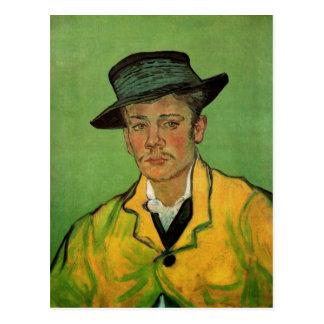 Porträt von Armand Roulin durch Vincent van Gogh Postkarte