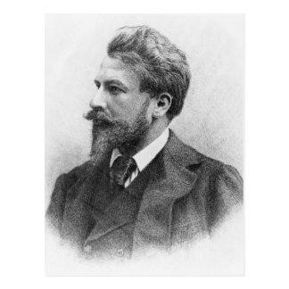 Porträt von Arthur Schnitzler Postkarte