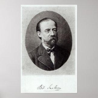 Porträt von Bedrich Smetana Plakatdruck