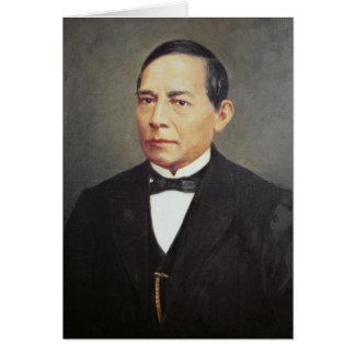 Porträt von Benito Juarez, 1948 Karte