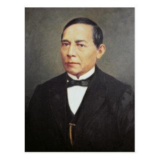 Porträt von Benito Juarez, 1948 Postkarte