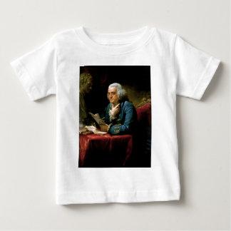 Porträt von Benjamin Franklin Baby T-shirt