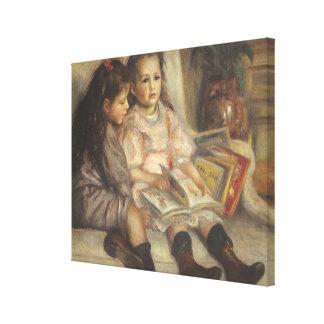Porträt von Caillebotte Kindern durch Pierre Leinwanddruck