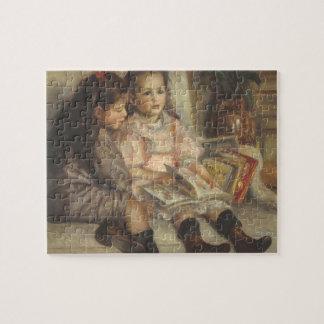 Porträt von Caillebotte Kindern durch Pierre Puzzle