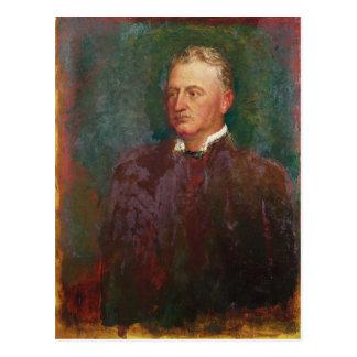 Porträt von Cecil John Rhodos 1898 Postkarte