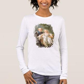 Porträt von Charles Philippe von Frankreich Langarm T-Shirt