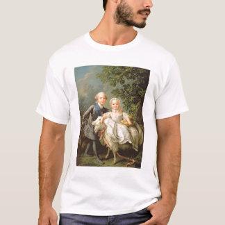 Porträt von Charles Philippe von Frankreich T-Shirt