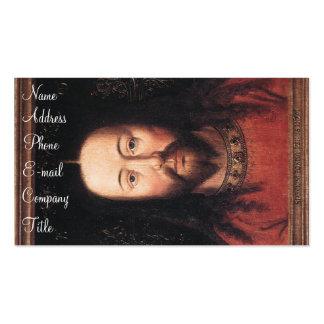 Porträt von Christ Visitenkarten