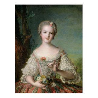 Porträt von De Frankreich Madame Louise Postkarte