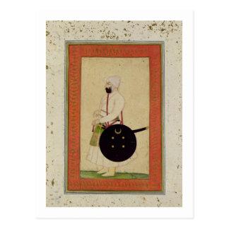 Porträt von Dilir Khan, c.1760, vom großen CLI Postkarte